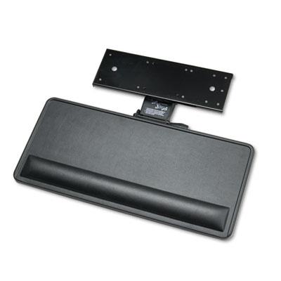 Extended Articulating Keyboard/Mouse Platform, 27w x 12d, Black