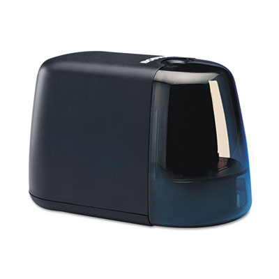 Compact Desktop Battery-Operated Pencil Sharpener, Black
