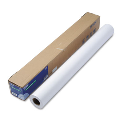 "Non-Glare Matte-Finish Inkjet Paper, Double-Weight, 36"" x 82ft R"