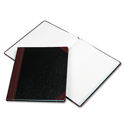 Columnar Book, Black Cover, 150 Pages, 12 1/4 x 10 1/8