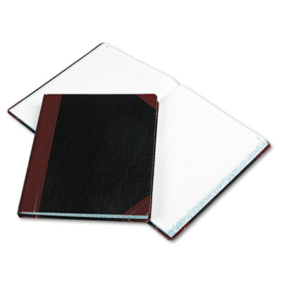 Columnar Book, Black Cover, 300 Pages, 12 1/4 x 10 1/8