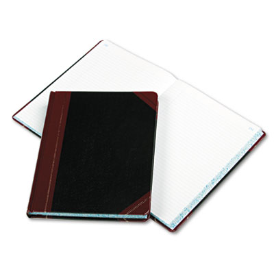Columnar Book, Record Rule, Black Cover, 300 Pages, 10 3/8 x 8 1