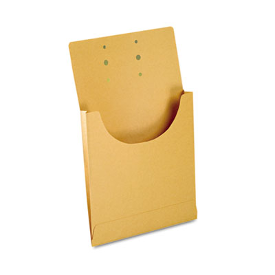 Expandable Retention Jackets, Legal/Letter, Kraft Brown, 100/Box