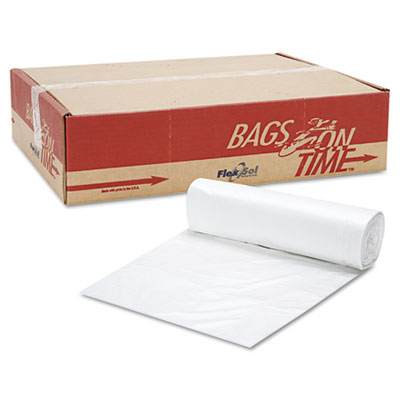 Can Liner Hi-D Rolls, 40 x 48, Clear, 250/Carton