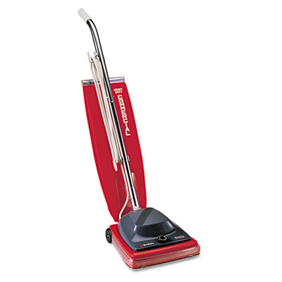 Sanitaire Commercial Upright Vacuum w/Vibra-Groomer II, 16lb, Re