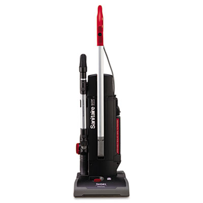 Quiet Clean 2 Motor Upright Vacuum, Red