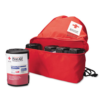 American Red Cross Emergency Smartpack for One Person, Nylon Cas