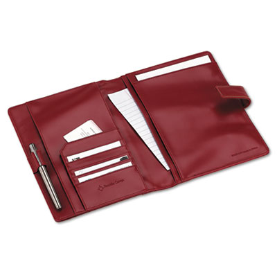 Simulated Leather Wirebound Planning System Cover, 6-3/4 x 9-1/2