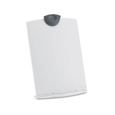 Freestanding Desktop Copy Stand/Clipboard, Plastic, 75 Sheet Cap