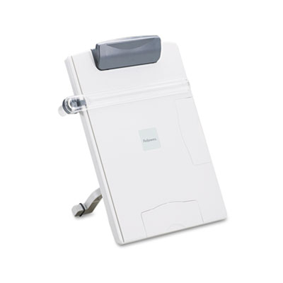 Easel-Style Desktop Letter/Legal/Wide-Form Copyholder, Platinum