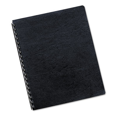Classic Grain Texture Binding System Covers, 11 x 8-1/2, Navy, 5