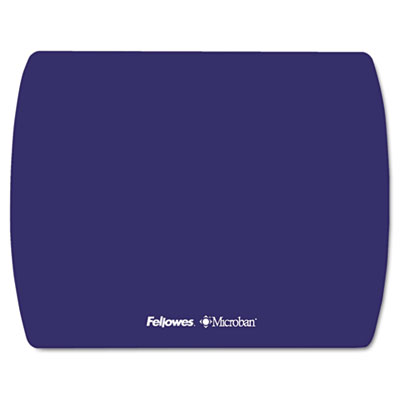 Microban Ultra Thin Mouse Pad, Sapphire Blue