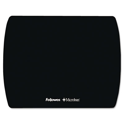 Microban Ultra Thin Mouse Pad, Black