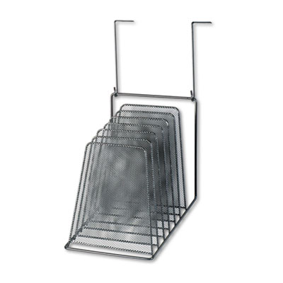 Mesh Partition Additions Six-Step File Organizer, 7 1/2 x 10 1/2