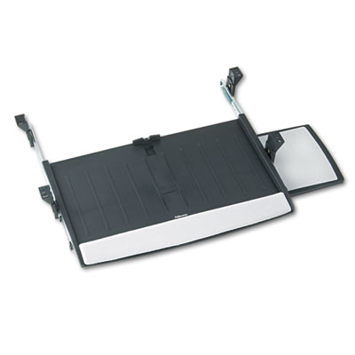 Deluxe Keyboard Drawer, 20-1/2w x 11-1/8d, Black