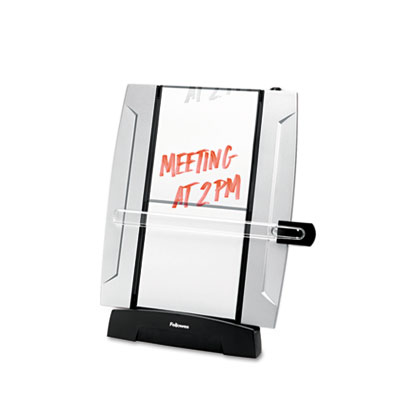 Office Suites Freestanding Desktop Copyholder, 150 Sheet Capacit