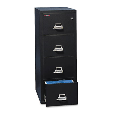 Four-Drawer Vertical File, 20-13/16w x 31-9/16d, UL 350
