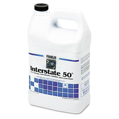 Interstate 50 Floor Finish, 1gal Bottle, 4/Carton