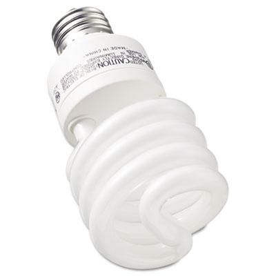 Compact Fluorescent Bulb, 26 Watt, T3 Spiral, Soft White, 2/Pack