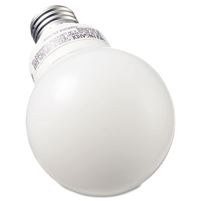 Compact Fluorescent Bulb, 11 Watt, G25 Globe, Soft White, 3/Pack