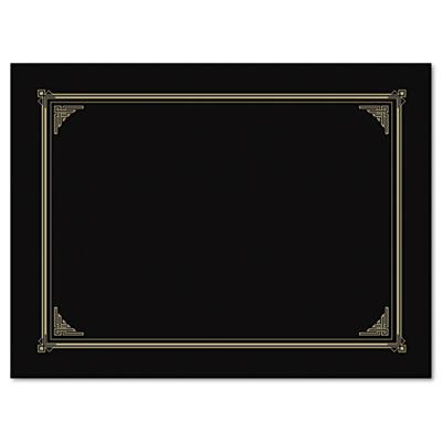 Certificate/Document Cover, 12-1/2 x 9-3/4, Metallic Gray, 6/Pac