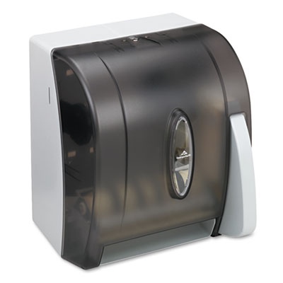 Georgia-Pacific Hygienic Push-Paddle Roll Towel Dispenser, Translucent Smoke at Sears.com