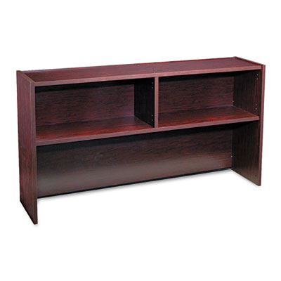 Genoa Series Open Hutch For Credenza, 66w x 15d x 36h, Mahogany