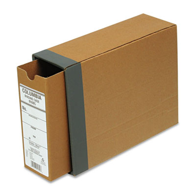 "Recycled Fiberboard Binding Case, 11 x 8-1/2, 2-1/2"" Capacity, K"