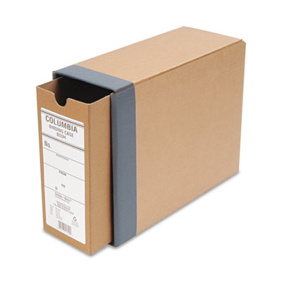 "Recycled Fiberboard Binding Case, 11 x 8-1/2, 3-1/8"" Capacity, K"