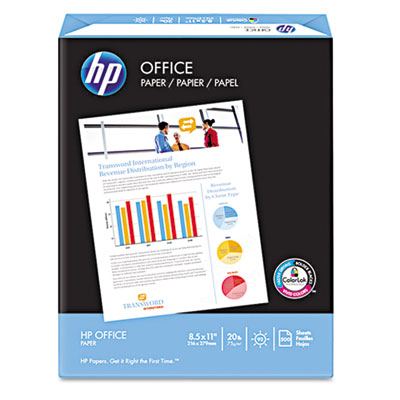 Office Paper, 92 Brightness, 20lb, 8-1/2 x 14, White, 500 Sheets