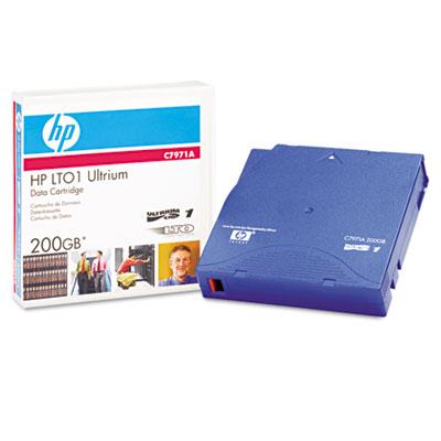 "1/2"" Ultrium LTO-1 Cartridge, 1998ft, 100GB Native/200GB Compres"