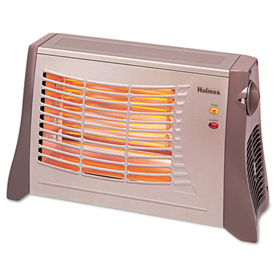 Ribbon Radiant Heater, 17 1/2 x 6 1/2 x 11, Light Brown