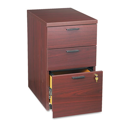 10500 Series Box/Box/File Mobile Pedestal, 15-3/4w x 22-3/4d x 2