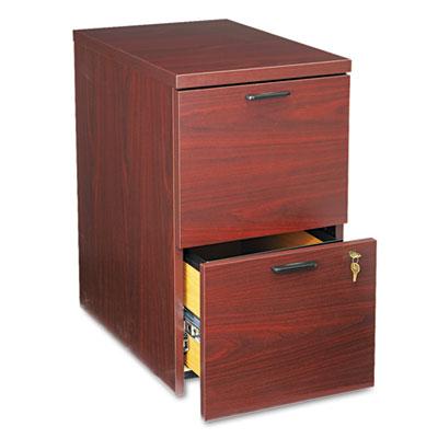 10500 Series File/File Mobile Pedestal, 15-3/4w x 22-3/4d x 28h,