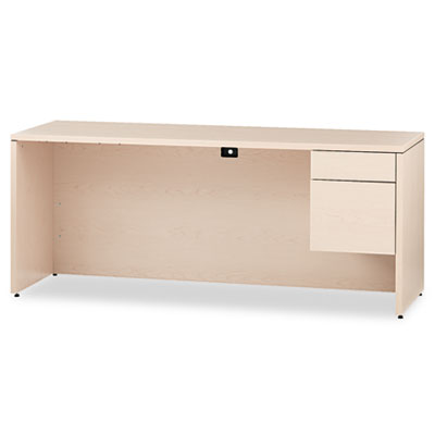 10500 Series 3/4-Height Right Pedestal Credenza, 72 x 24 x 29-1/