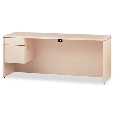 10500 Series 3/4-Height Left Pedestal Credenza, 72 x 24 x 29-1/2