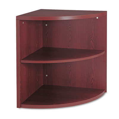 10500 Series Two-Shelf End Cap Bookshelf, 24w x 24d x 29-1/2h, M