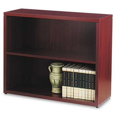 10500 Series Laminate Bookcase, Two-Shelf, 36w x 13-1/8d x 29-5/