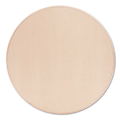 "10700 Series Round Table Top, 42"" Diameter, Natural Maple"