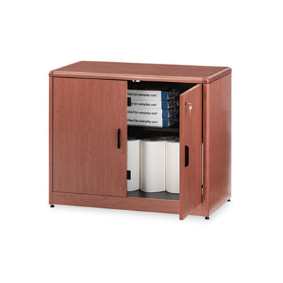 10700 Series Locking Storage Cabinet, 36w x 20d x 29-1/2h, Bourb