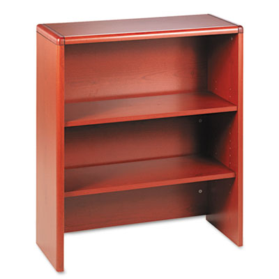 10700 Series Bookcase Hutch, 32-5/8w x 14-5/8d x 37-1/8h, Henna