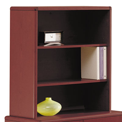 10700 Series Bookcase Hutch, 32-5/8w x 14-5/8d x 37-1/8h, Mahoga