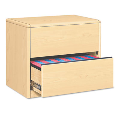 10700 Series Two-Drawer Lateral File, 36w x 20d x 29-1/2h, Natur