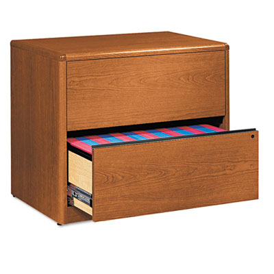 10700 Series Two-Drawer Lateral File, 36w x 20d x 29-1/2h, Bourb