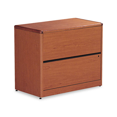 10700 Series Two-Drawer Lateral File, 36w x 20d x 29-1/2h, Henna