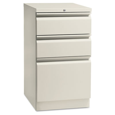 Flagship Mobile Box/Box/File Pedestal, Full Radius Pull, 19-7/8d