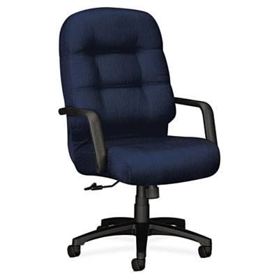 2090 Pillow-Soft Series Executive High-Back Swivel/Tilt Chair, M