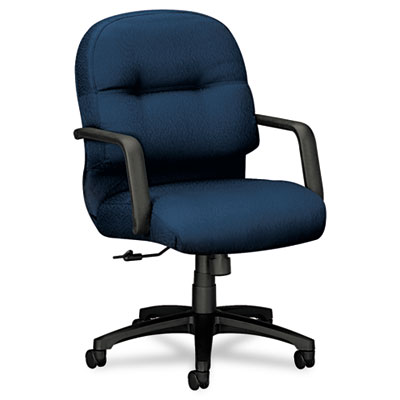 2090 Pillow-Soft Series Managerial Mid-Back Swivel/Tilt Chair, M