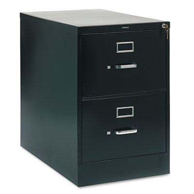 210 Series Two-Drawer, Full-Suspension File, Legal, 28-1/2d, Bla
