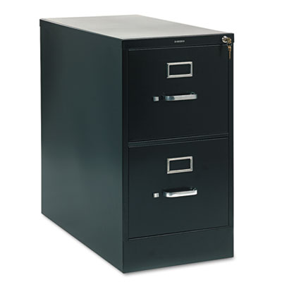 210 Series Two-Drawer, Full-Suspension File, Letter, 28-1/2d, Bl